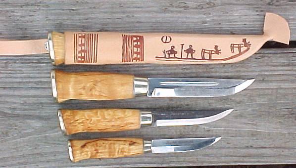 Ragnar's Finnish Knife Catalog